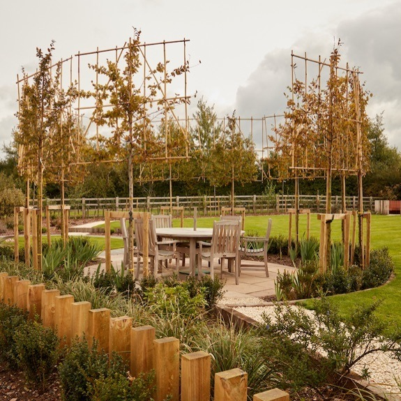 Custom patio design and installation in Leamington Spa.